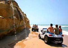 buggy ride praia das fontes