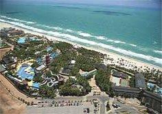 Vista aerea Fortaleza Beach Park