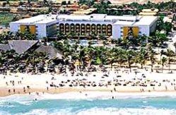 vista aerea a praia do futuro Vila Gale Hotel