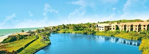 The lake Oasis Atlantico Hotel
