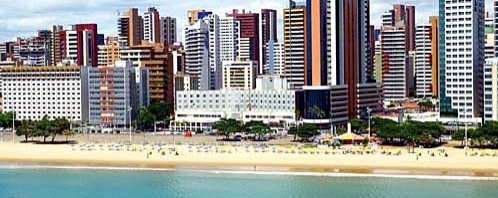 aerial view of praia do meireles Oasis Atlantico Hotel