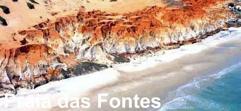 passeios de fortaleza para praia das fontes