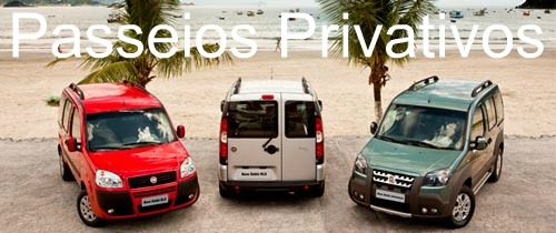 Fortaleza transfers tours privativos mini van doblo