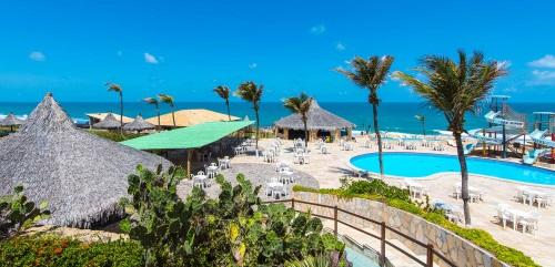 Aireal view Hotel Parque das Fontes-Praia das Fontes