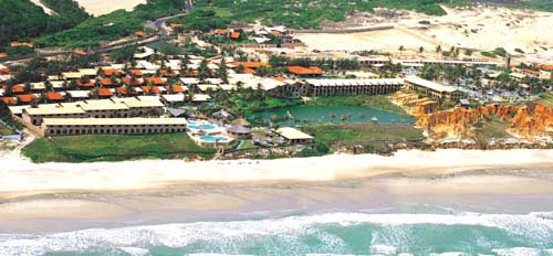 Vista aérea Hotel Parque das Fontes