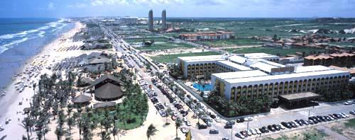 Aireal View of the Pool Vila Gale Hotel Praia do Futuro