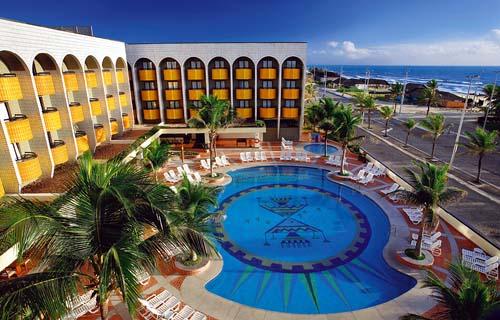 Overview of the Pool Vila Gale Hotel Praia do Futuro