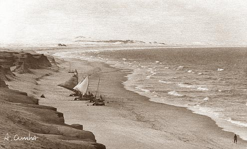 Old view canoa quebrada Estevao
