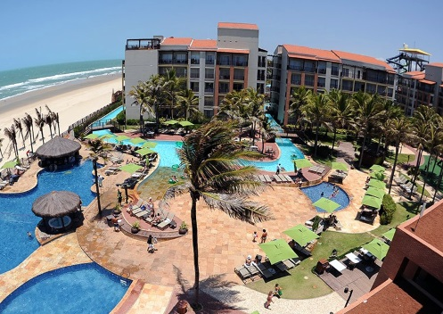 Fortaleza Beach Park swimming pool