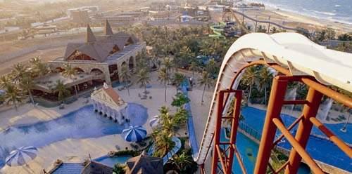 Fortaleza Beach Park raft slide