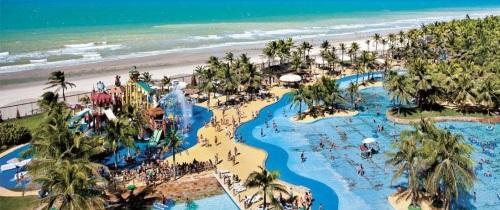 vista aerial beach park fortaleza