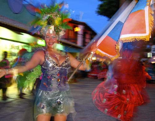 Carnaval na Broadway de Canoa Quebrada
