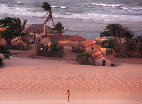 the history of canoa quebrada