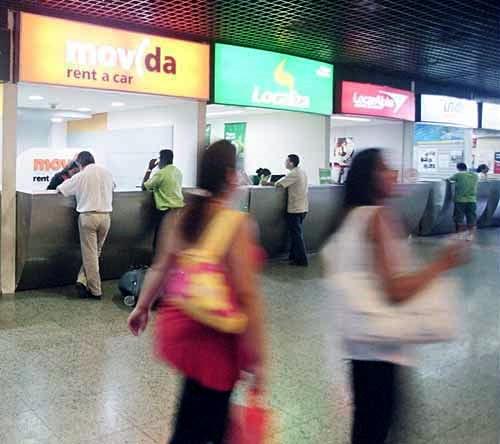 Carro para Alugar em Fortaleza dentro do aeroporto