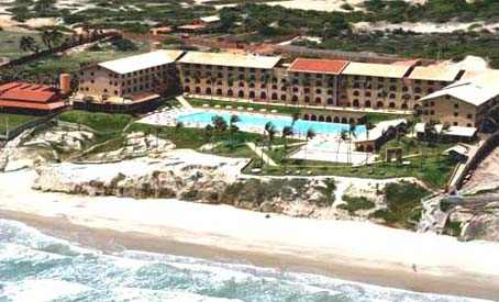 Aireal view of Hotel Coliseum Praia das Fontes