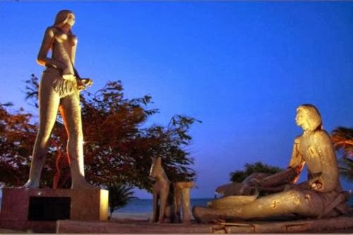 Estatua de Iracema Fortaleza