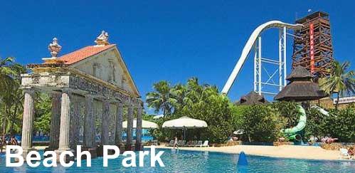 Fortaleza day trips to beach park porto das dunas