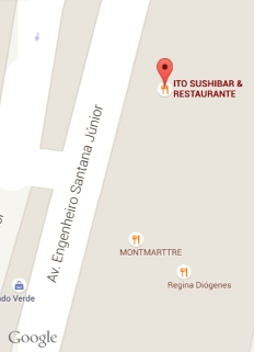 google locator map japanese restaurant fortaleza