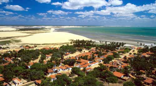 Aireal View Jericoacoara Ceara