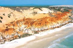 Aireal View Praia das Fontes