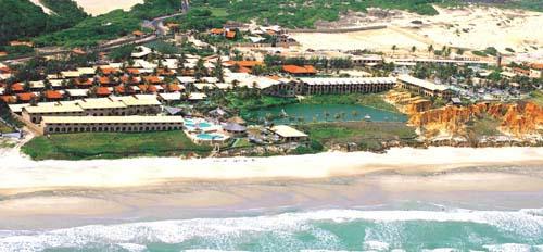 Aireal view of Oasis Atlantico Praia das Fontes