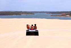 view or lagoa do uruaru