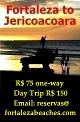 Fortaleza to Jericoacoara