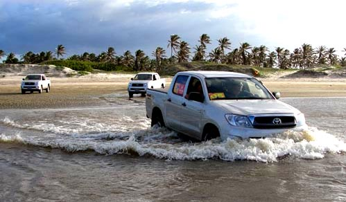 toyota river crossing ceara brazil
