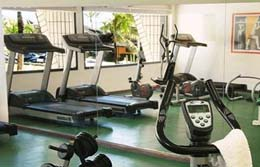 Photo of inside the Vila Gale Hotel gym