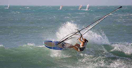 Windsurfing in Jericoacoara
