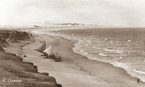 Old view canoa quebrada Estevao
