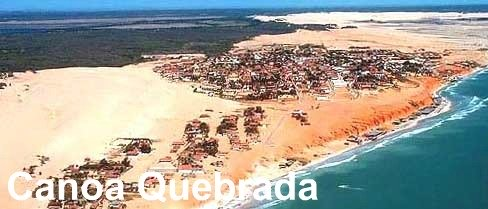 Fortaleza day trips to Canoa Quebrada