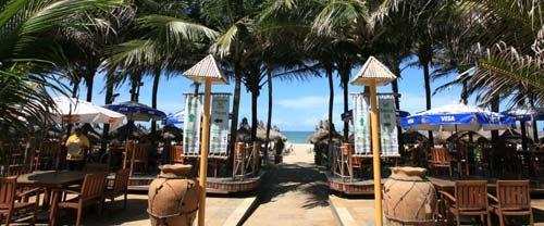 polynesian style umbrellas
