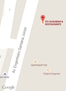 google locator map restaurante japonese fortaleza