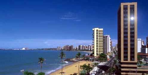 Vista Hotel Playa de Iracema Fortaleza