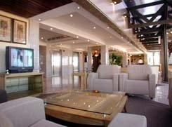interior view of the Carmel Magna Beach Hotel Iracema