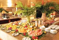 The restaurant Hotel Parque das Fontes